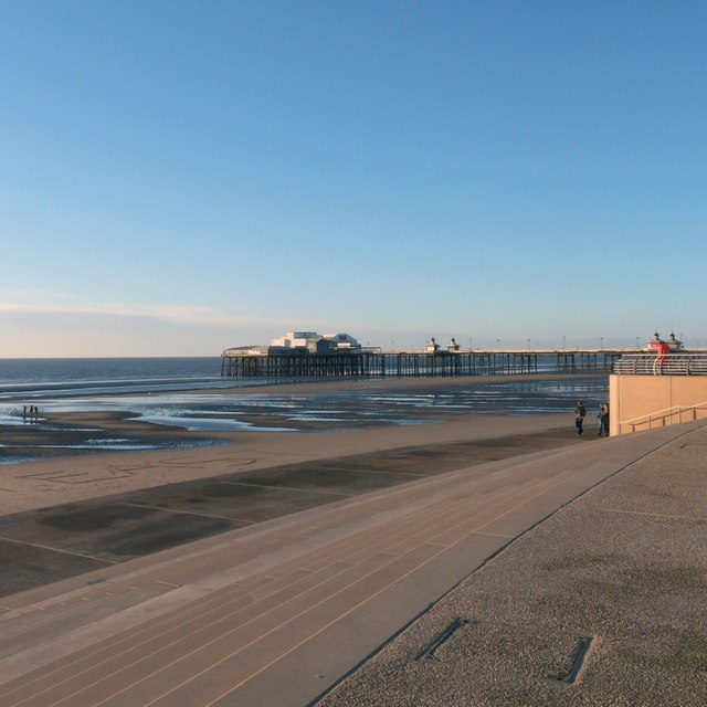 North Pier from Tower Headland