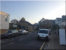 TQ7668 : Upper Britton Place, Gillingham by Chris Whippet