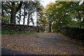NN7959 : The entrance to Aldcharmaig on the B8019 by Ian S