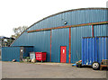 TF7923 : Blister hangar on the Waterford Industrial Estate by Evelyn Simak