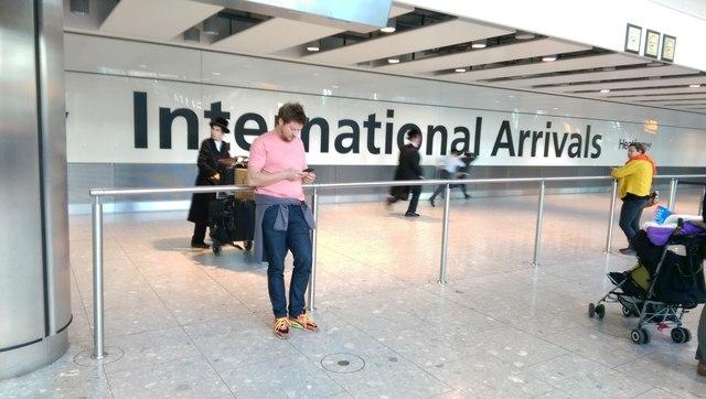 Heathrow Airport : Terminal 5 - International Arrivals