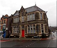 SS8591 : Late Edwardian building in Maesteg by Jaggery