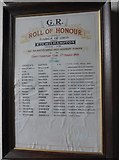 SU0460 : St Andrew, Etchilhampton: Roll of Honour by Basher Eyre