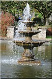 SO6302 : Fountain in Bathurst Park by Philip Halling