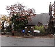 SS8591 : St David's Church, Maesteg by Jaggery