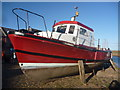 NT6879 : East Lothian Townscape : Lady Angela At Cromwell Harbour, Dunbar by Richard West