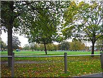 TQ2775 : London : Lambeth - Clapham Common by Lewis Clarke