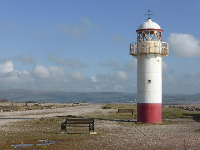 New seats at the Hodbarrow Lighthouse