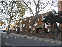 TQ3084 : Flats on Caledonian Road, Barnsbury by David Howard
