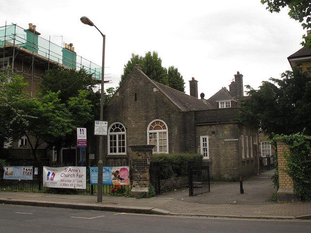 St Anne's church hall, Wandsworth