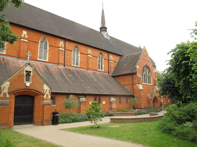 St Andrew's church garden, Earlsfield