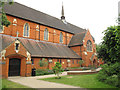 TQ2672 : St Andrew's church garden, Earlsfield by Stephen Craven