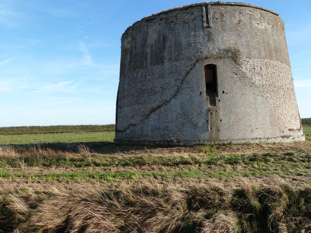 Martello tower, Shingle Street, Suffolk