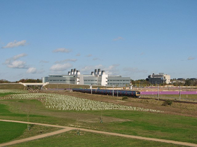 View from Addenbrooke's Road Bridge