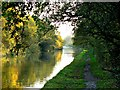 SP1972 : South along the Grand Union Canal, Rising Lane, near Baddesley Clinton, Warwickshire by Brian Robert Marshall