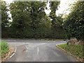 TM2198 : Church Road, Newton Flotman by Adrian Cable