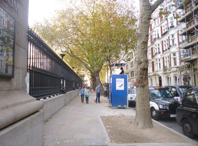 Bloomsbury, police observation post