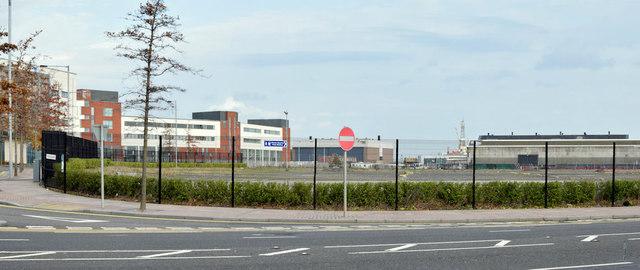 Olympic House site, Belfast - November 2014(1)