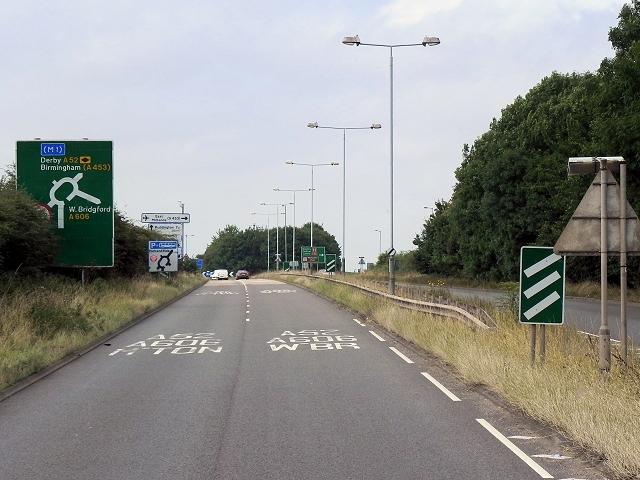 A52 Gamston Lings Bar Road