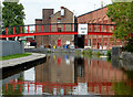 SJ8549 : Canal and factory at Middleport, Stoke-on-Trent by Roger  Kidd