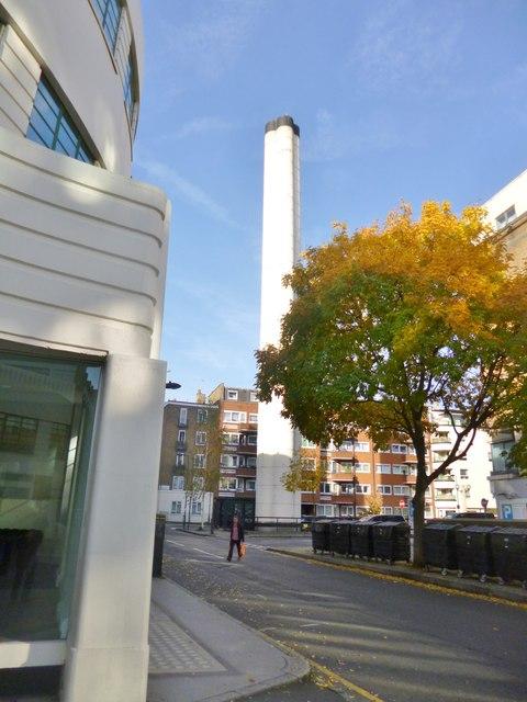 Bloomsbury, ventilation shaft
