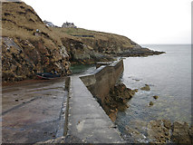 NB5462 : Slipway at Port Skigersta by Hugh Venables