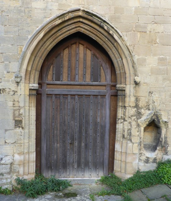 The Abbey Church of Saints  Peter and Paul: South Door