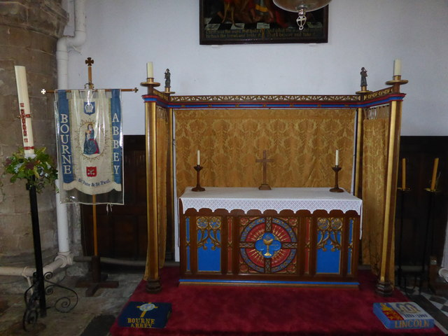 The Abbey Church of Saints  Peter and Paul: Altar