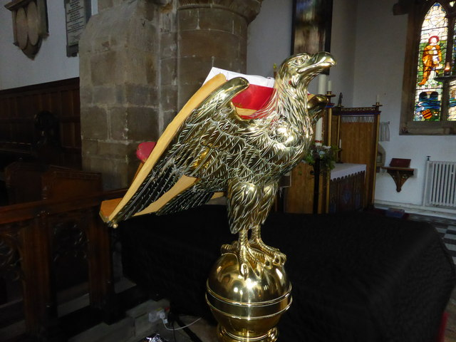 The Abbey Church of Saints  Peter and Paul: Lectern