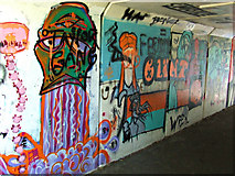 SK5319 : Browns Lane underpass by Thomas Nugent