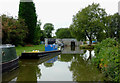 SJ8354 : Canal at Hardings Wood near Kidsgrove, Staffordshire by Roger  Kidd