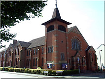 SK5319 : Loughborough United Reformed Church by Thomas Nugent