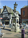 SK5319 : Fearon Fountain on Market Place by Thomas Nugent