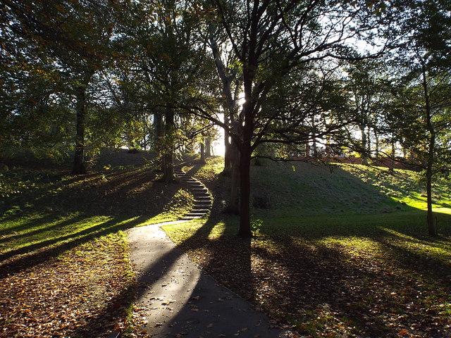Autumn light, Backhouse Park, Sunderland