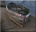 TM4975 : Old boat, Walberswick by Ian Taylor