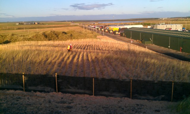 Dune Stabilisation project