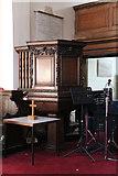 TQ3379 : St Mary Magdalen, Bermondsey - Pulpit by John Salmon