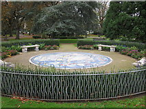 SU4212 : Mosaic Garden, East Park by don cload