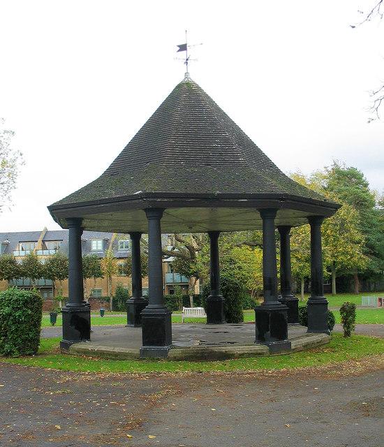 Bandstand, Bancroft Gardens, Hitchin