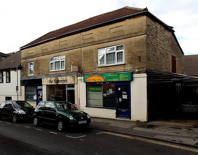Union Street shops, Melksham