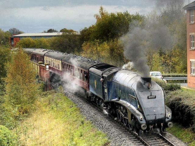 Sir Nigel Gresley on the East Lancashire Railway