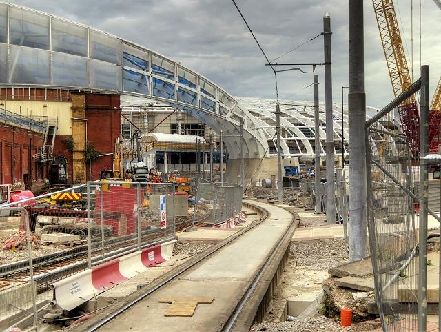 Victoria Station Refurbishment - October 2014