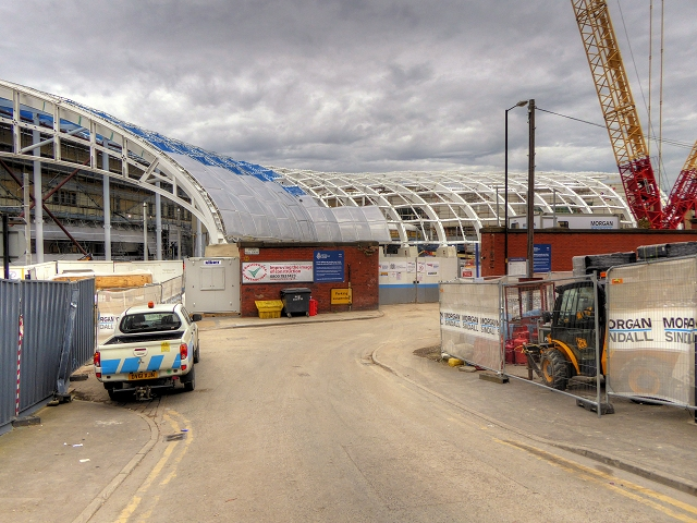 Refurbishment of Manchester Victoria Station - A View from Long Millgate