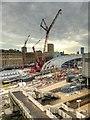 SJ8499 : Manchester Victoria - Construction Site October 2014 by David Dixon