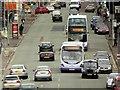 SJ8499 : Traffic on Cheetham Hill Road by David Dixon