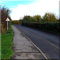ST8965 : Bend ahead on Dunch Lane, Melksham by Jaggery