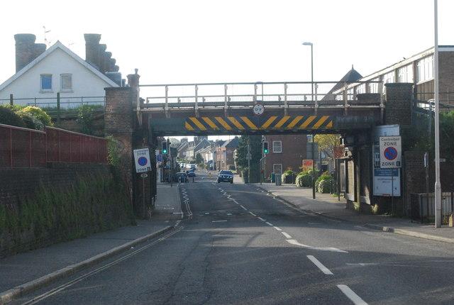Railway bridge, East St