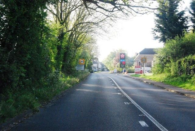 A281, entering Mannings Heath