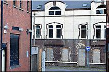 "J5081 : Former ""Shooters"", Bangor - November 2014(1) by Albert Bridge"