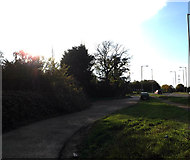 TM1478 : Bridleway to the B1118 by Geographer